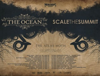 Tour Announcement: The Ocean, Scale The Summit, The Atlas Moth, Silver Snakes