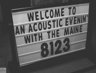 Live: An Acoustic Evening with The Maine
