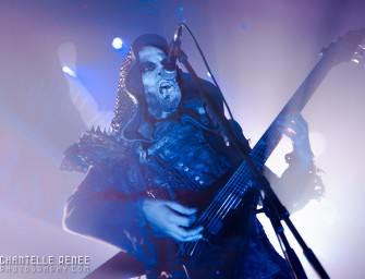 Behemoth Baptizes Texas: Metal Alliance Tour 2014
