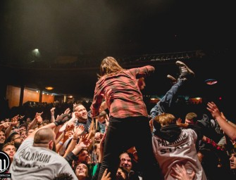 Every Time I Die at The Palladium in Worcester, Ma