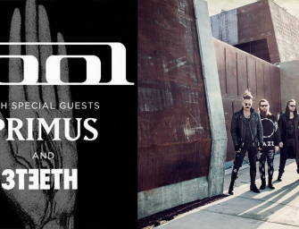 3TEETH Kick Off U.S. Tour with Tool and Primus