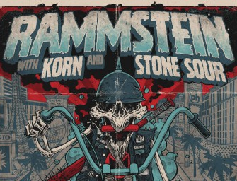 Rammstein announce Las Vegas show with Korn and Stone Sour! July 4th Weekend.