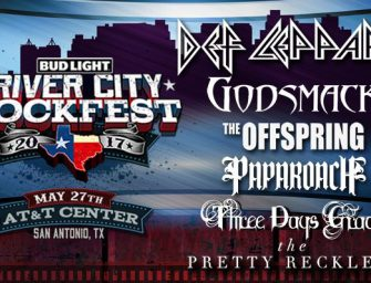 Def Leppard to Headline Bud Light's 5th Annual River City Rockfest