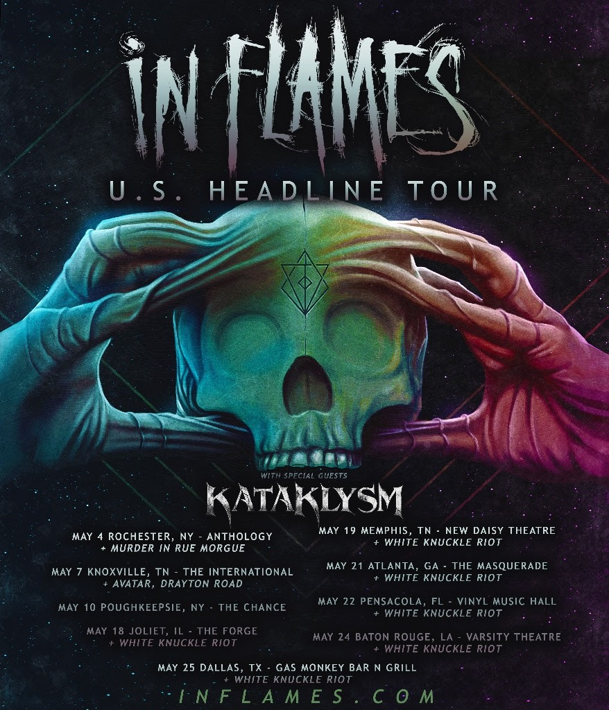 In Flames US TOUR