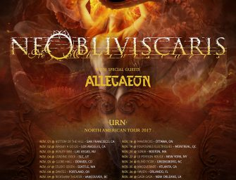 Ne Obliviscaris & Allegaeon Announce 2017 North American Tour