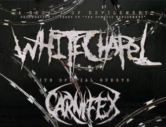Whitechapel Announce Fall Tour Dates