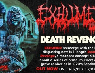 Exhumed Begins US Headlining Tour